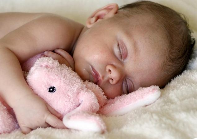 Пот во сне у ребенка